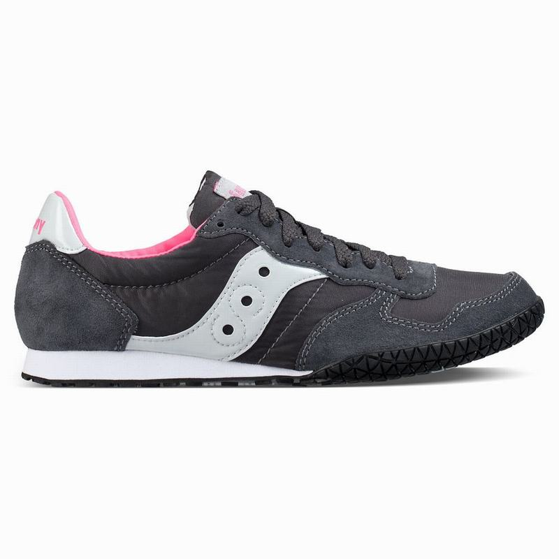 Saucony Bullet Originals Damen Grau/Rosa MC5093OL
