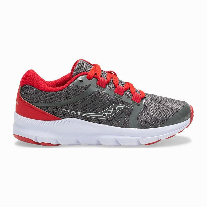 Saucony Inferno Lite Sneaker Mädchen Grau/Rot FQ7920DY