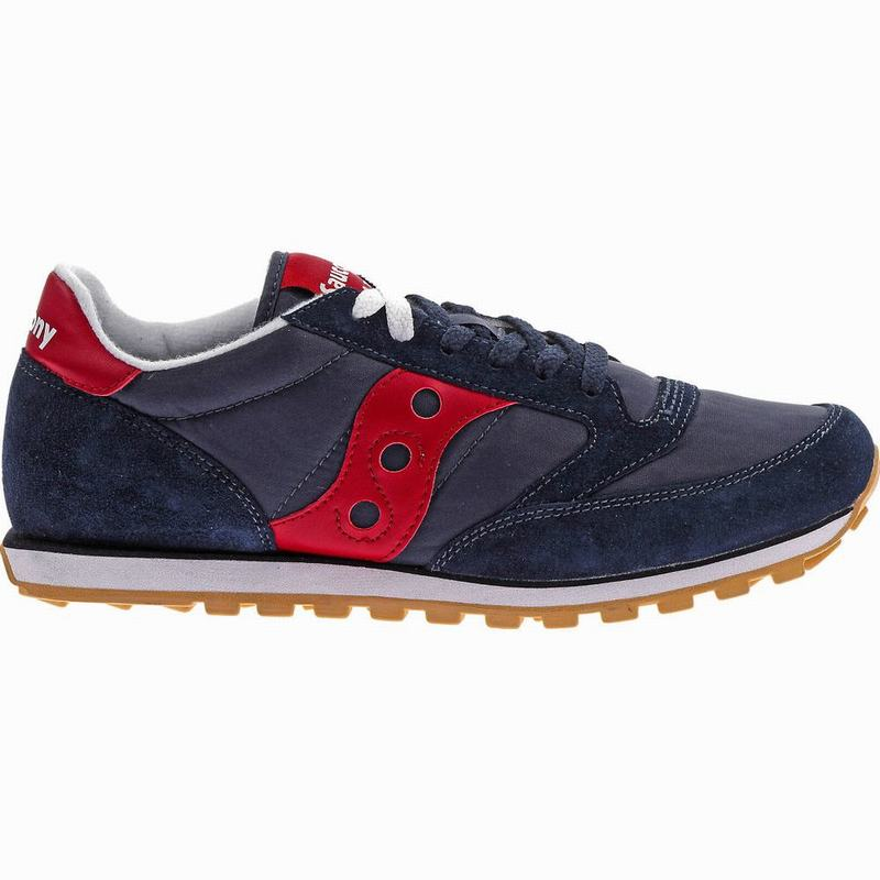 Saucony Jazz Low Pro Originals Herren Navy/Rot SM1489UA