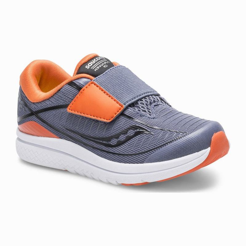 Saucony Kinvara 10 Jr. Sneaker Jungen Grau/Orange QK4747CT